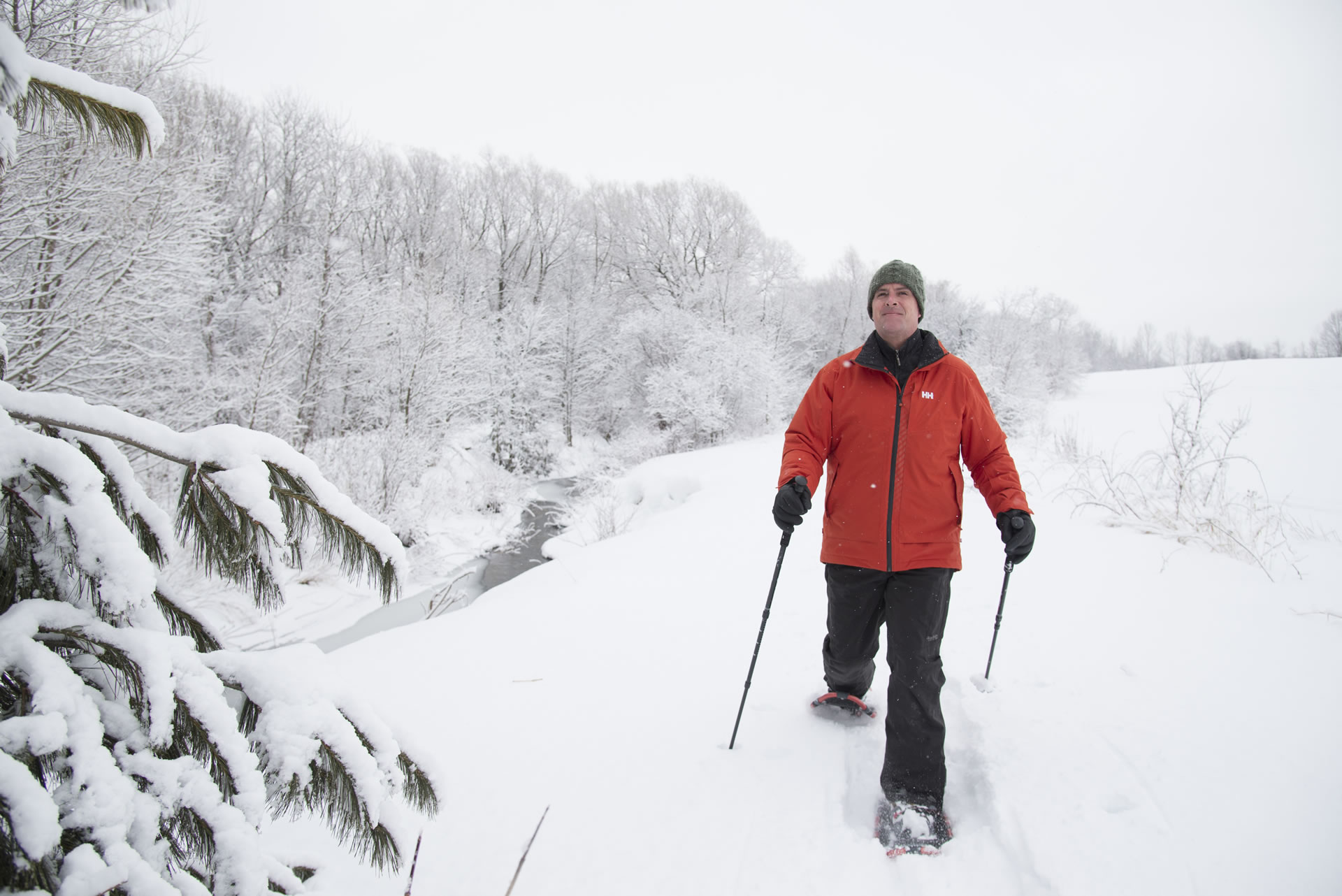 Snowshoeing in Meaford