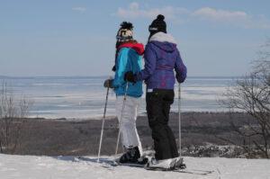 Skiing Blue Mountain