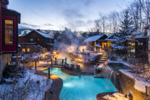 Scandinave Spa Winter