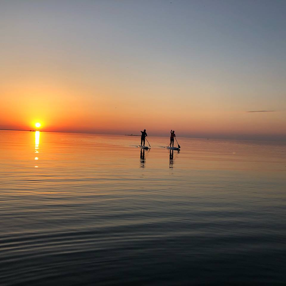 Sunset SUP with Blu Wave