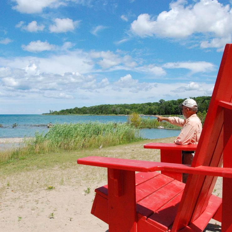 Meaford Big Red Chair Tour