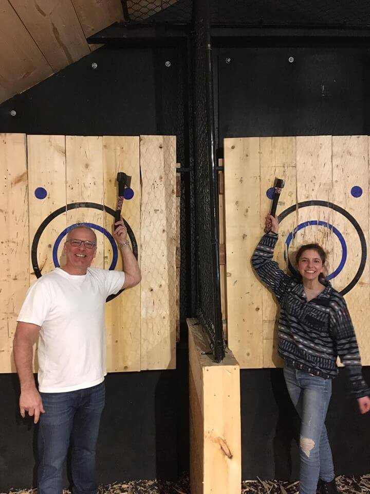 AXE throwing thornbury