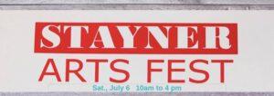 Stayner Arts Fest
