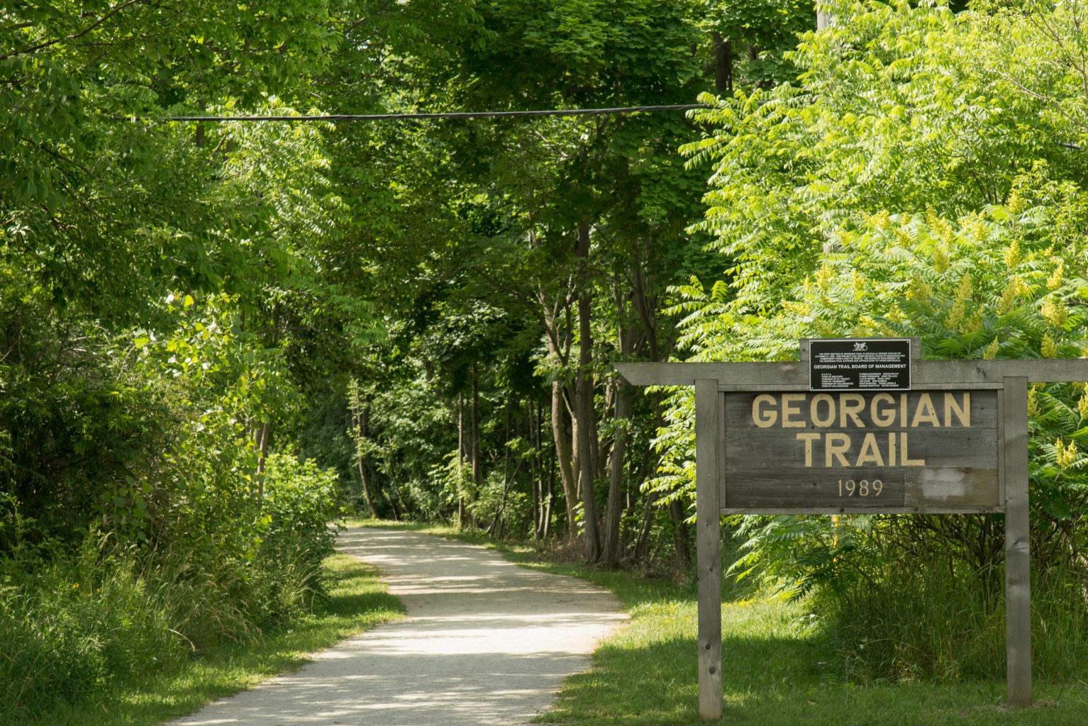 georgian trail south georgian bay
