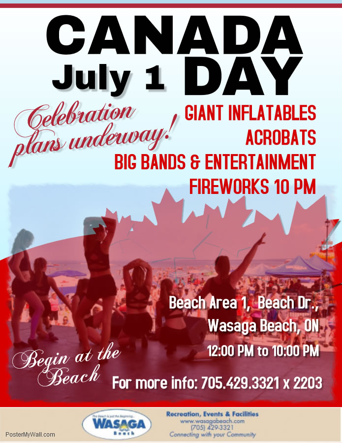 Canada Day in Wasaga Beach