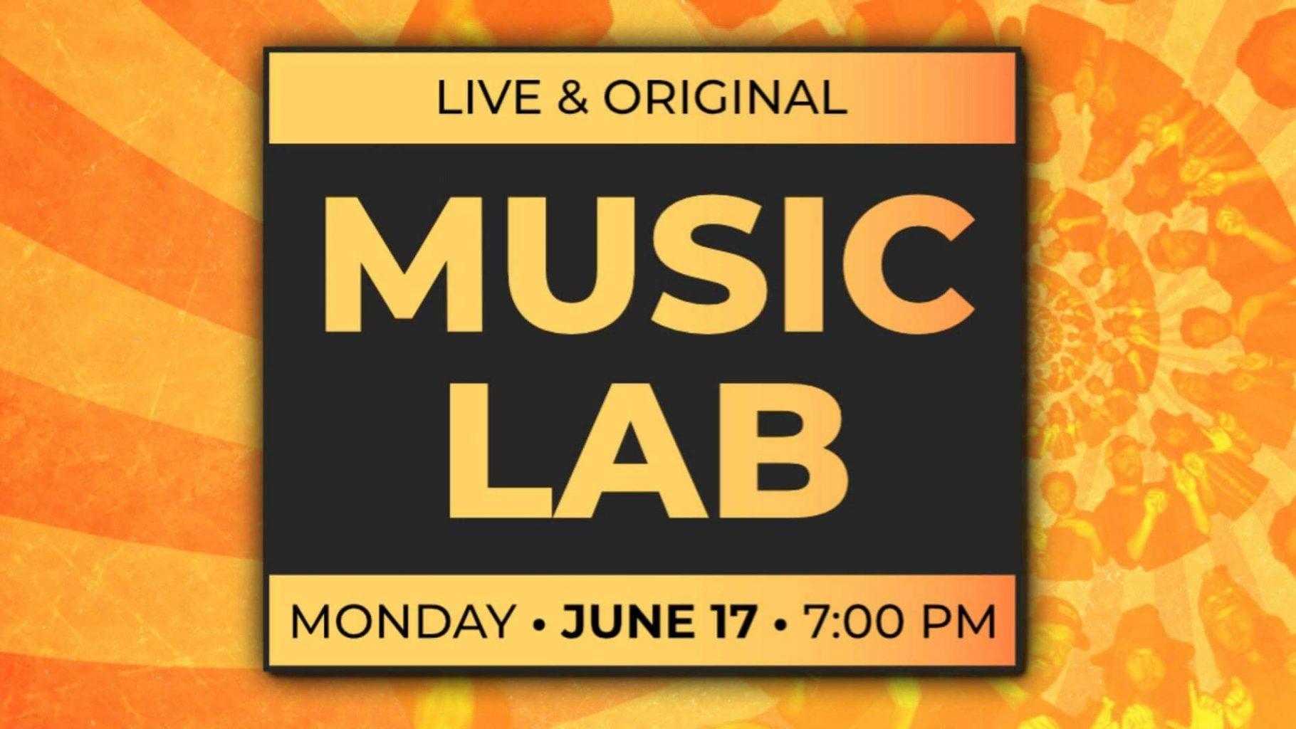 music lab monday june 17