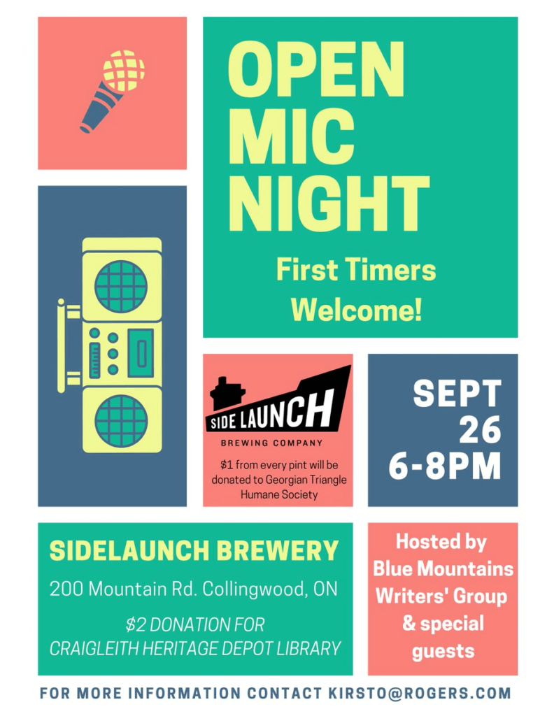 Open Mic Night - Side Launch