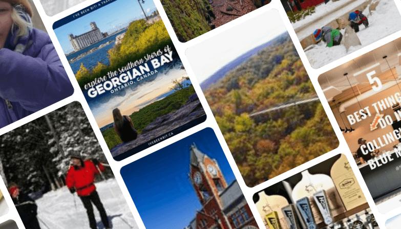 Pinterest Board South Georgian Bay Tourism