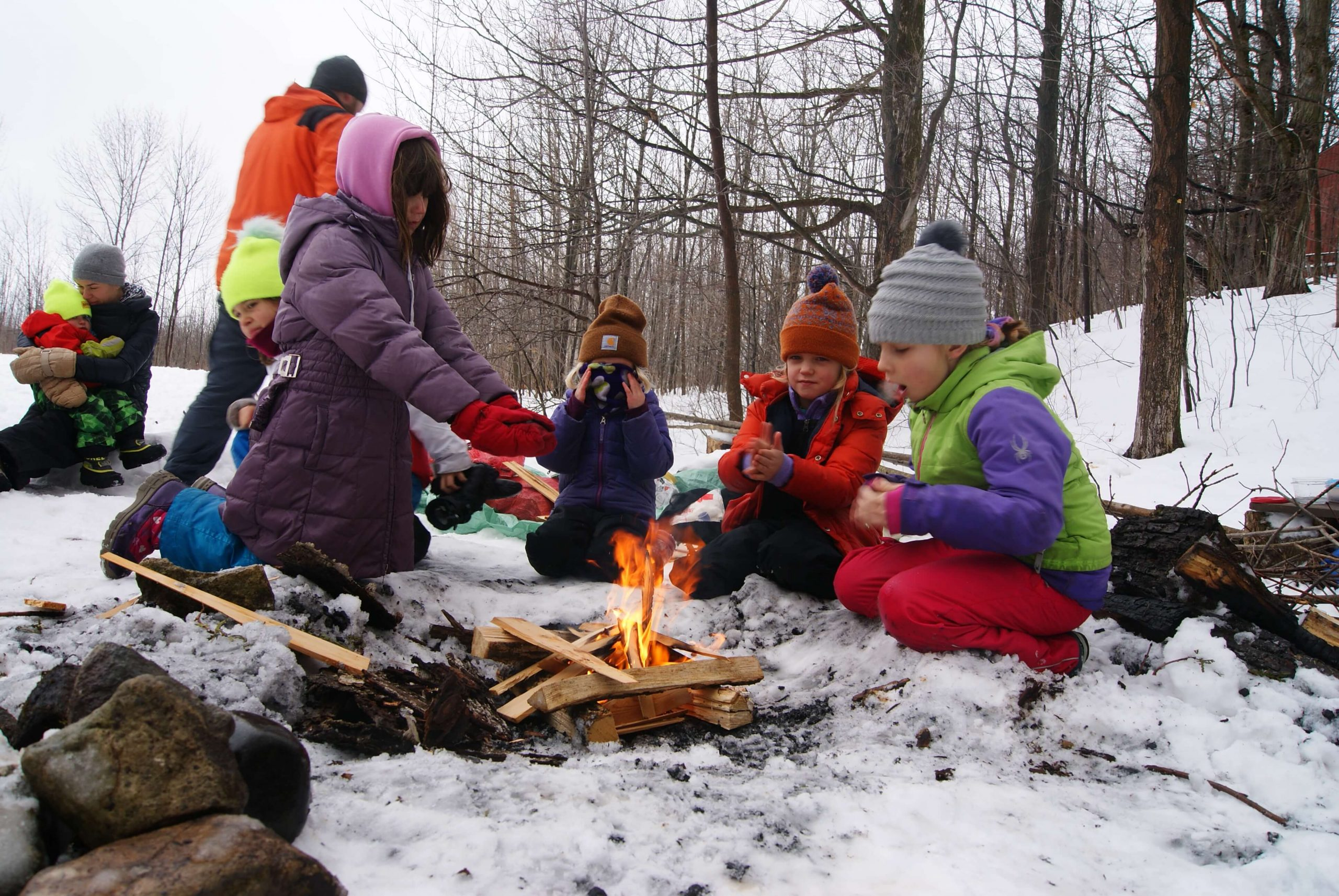 Winter Camp.