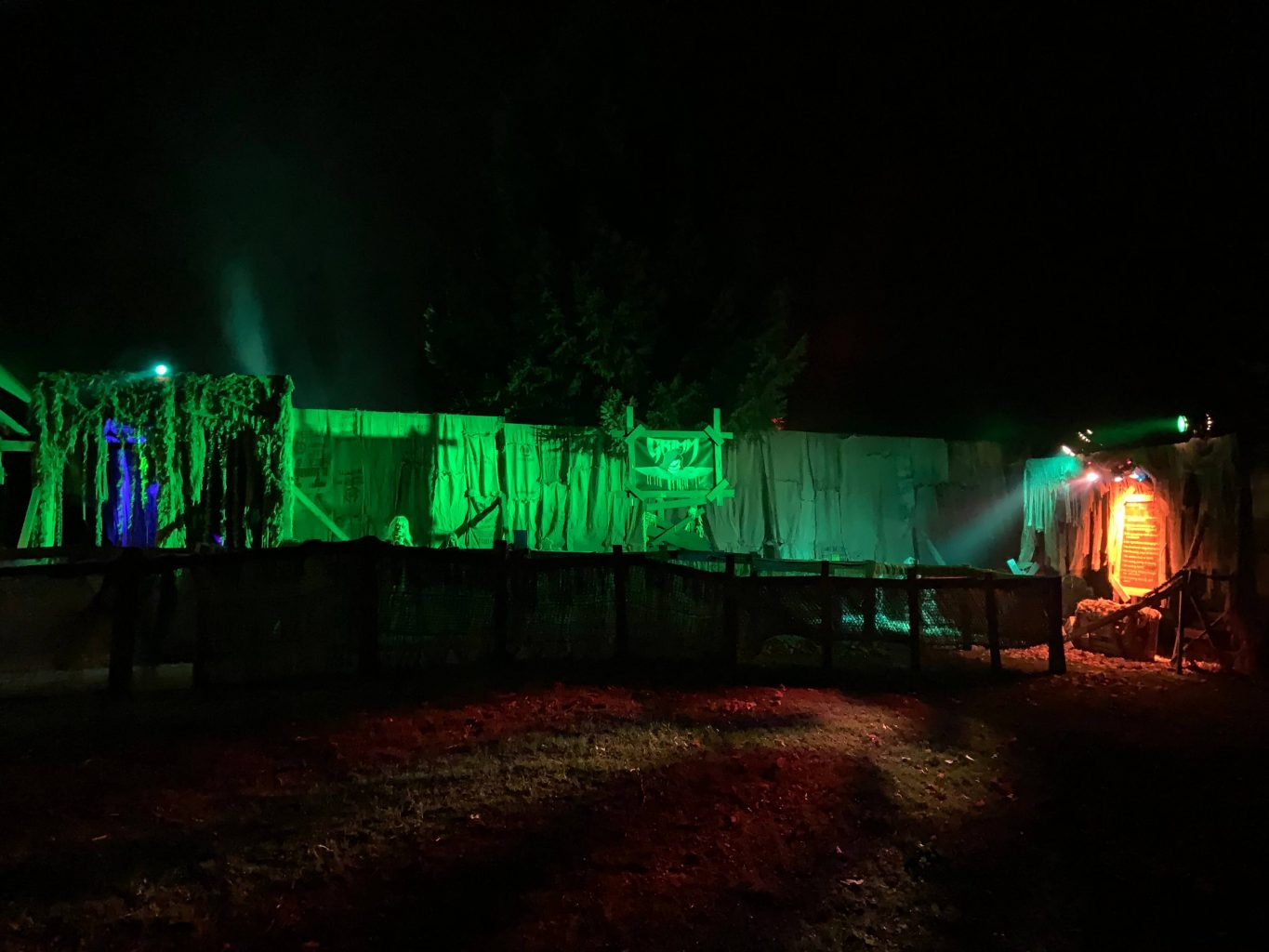 Grimm Grounds Horror Maze Tiny, Ontario