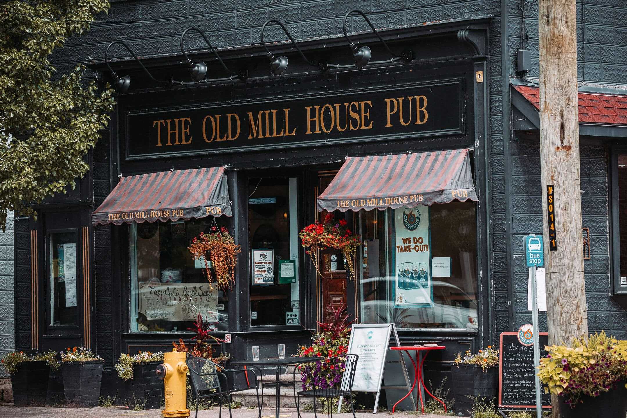 The Old Mill House Pub in Creemore, Ontario