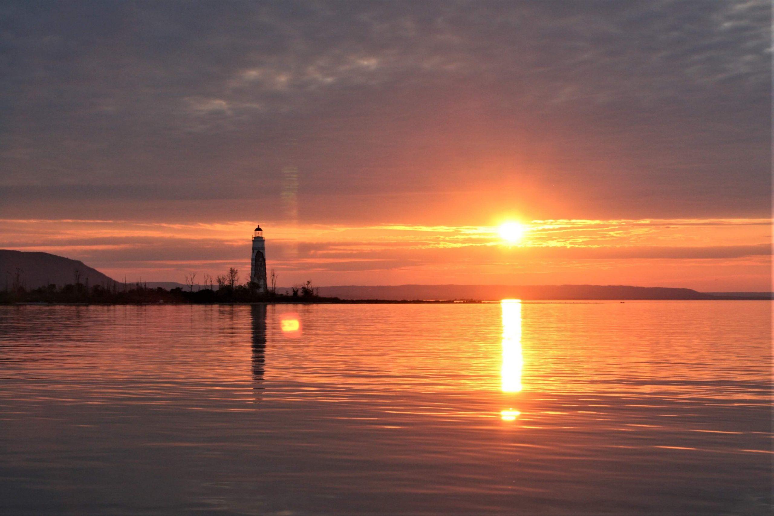 Nottawasaga Lighthouse at Sunset